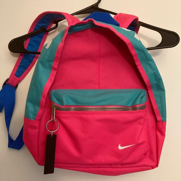 Nike fluorescent colored mini backpack
